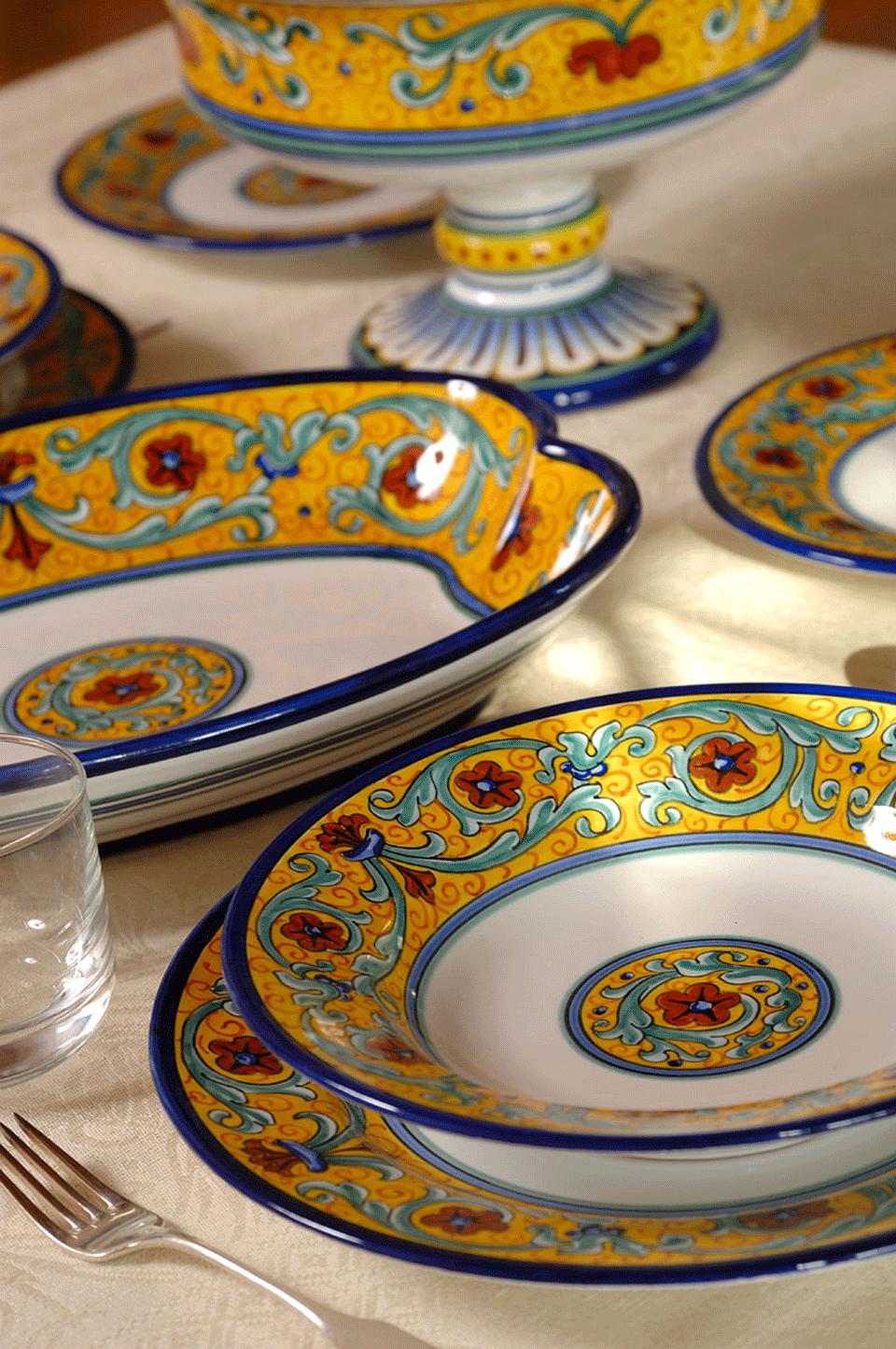 посуда керамическая из италии что